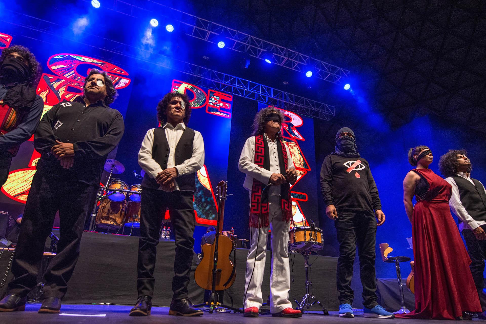 Illapu celebró su disco El Grito de la Raza en Movistar Arena